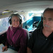 Michael Rymer and C in airplane over South Island, New Zealand by cocoi_m