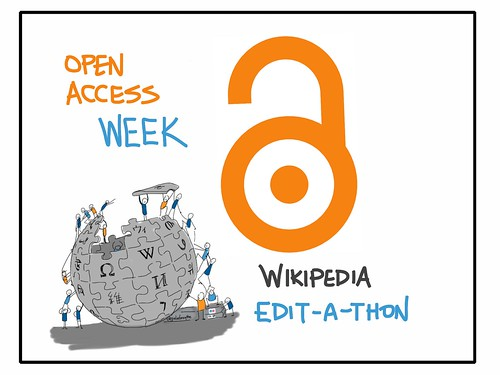 Open Access Week Wikipedia Edit-a-thon