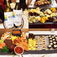 Quite a spread for our final round of wine tasting & project pitching @edurolearning Tech Tastings #eduro