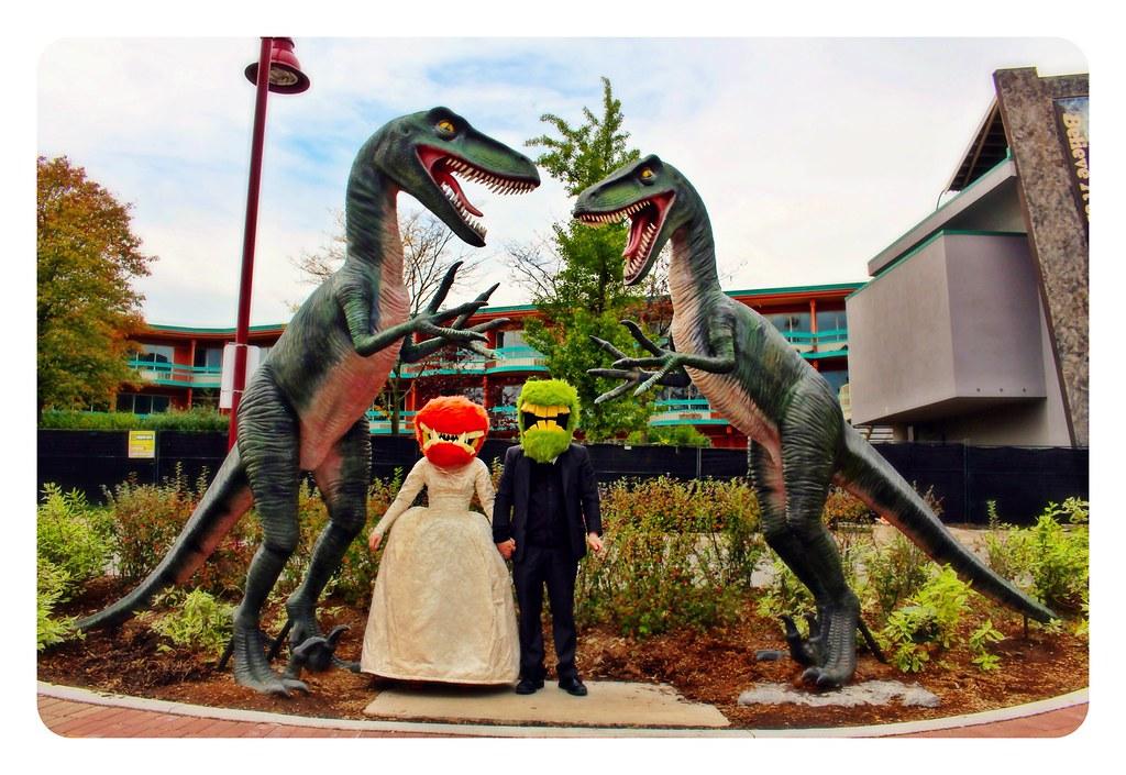 Monster wedding.