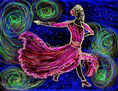 Dancing Between Galaxies