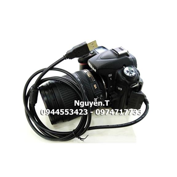 Cáp kết nối dữ liệu USB máy ảnh Canon Nikon