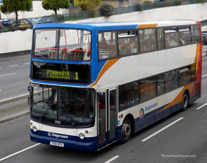 Stagecoach 17051 T651KPU