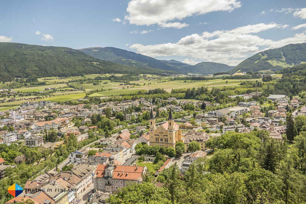 Bruneck from above