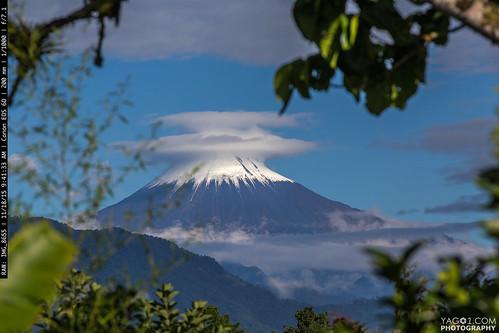 mountains landscape ecuador sangay volvano