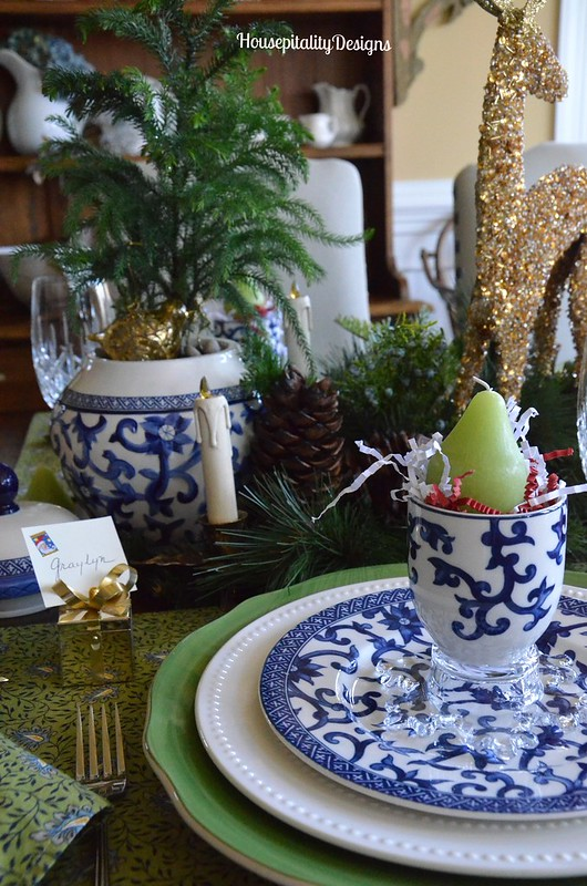 Christmas 2015 Tablescape - Housepitality Designs