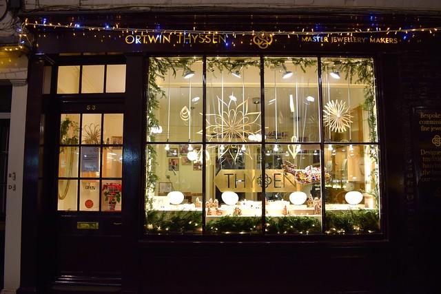 Ortwin Thyssen Christmas Windows, Canterbury | www.rachelphipps.com @rachelphipps
