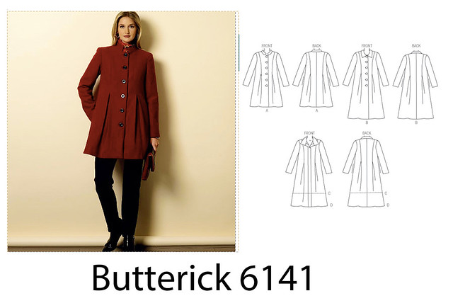 Butterick 6141 coat