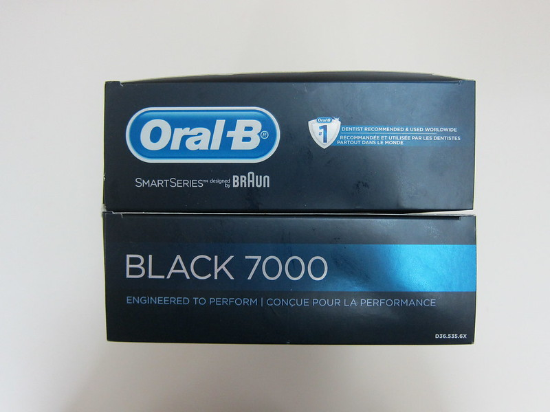 Oral-B Black 7000 - Box Top