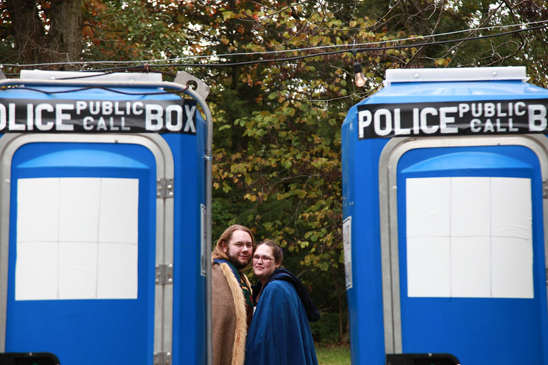 wedding ring porta potty
