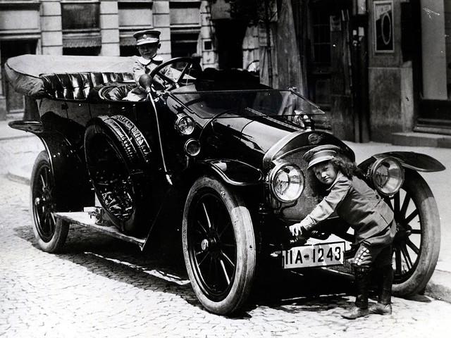 Кабриолет Audi-A 1910 года