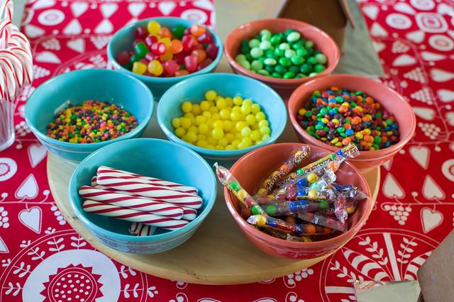 candy set up