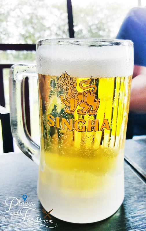 singha park Bhubhirom Restaurant singha beer