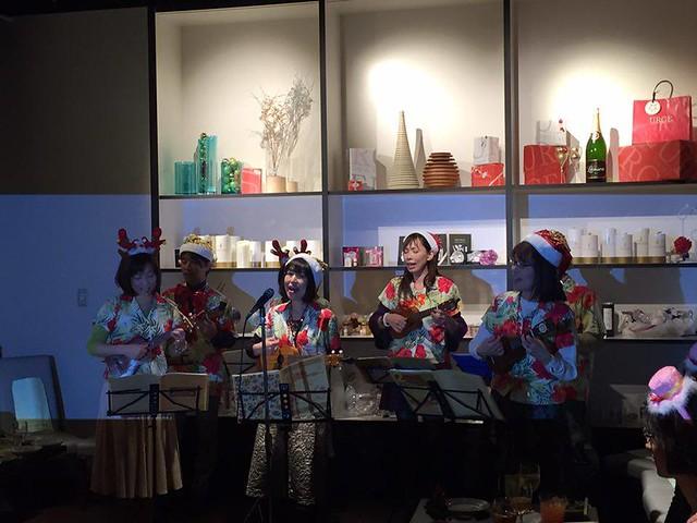 【ボランティア演奏会】日本姿勢と歩き方協会クリスマスパーティー2015.12.13_9