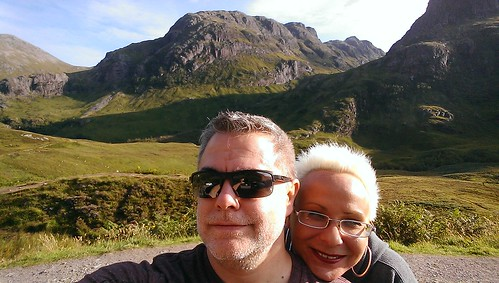 Rob & Sue in Glencoe
