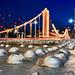 """Glitter And Sparkle"" Chelsea Bridge, London, UK by davidgutierrez.co.uk"