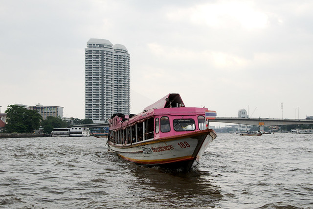 Chao Phraya Express Boat (Bangkok,Thailand)