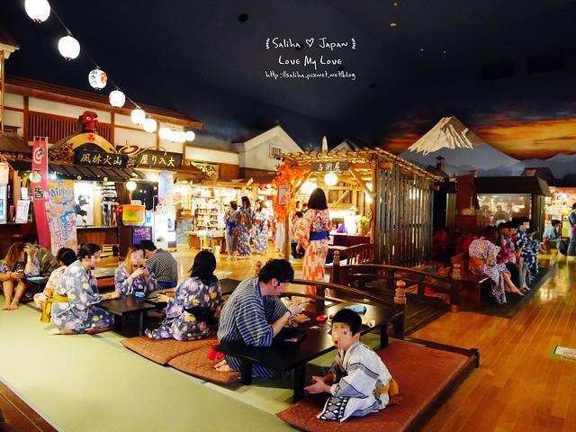 大江戶溫泉物語餐廳美食街吃飯 (18)