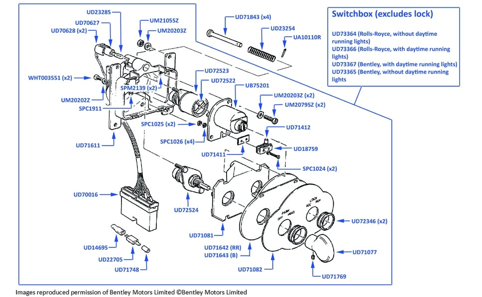Wiring Diagram For 1984 Rolls Royce Silver Spur