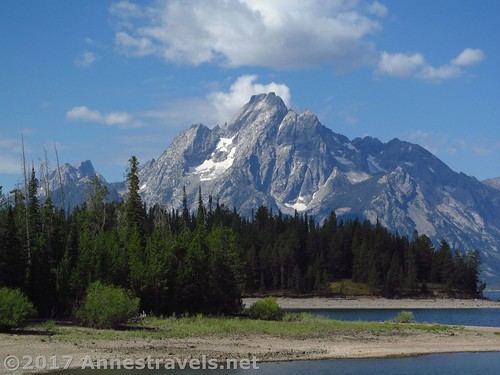 Mt. Moran from the Lakeshore Trail in Grand Teton National Park, Wyoming