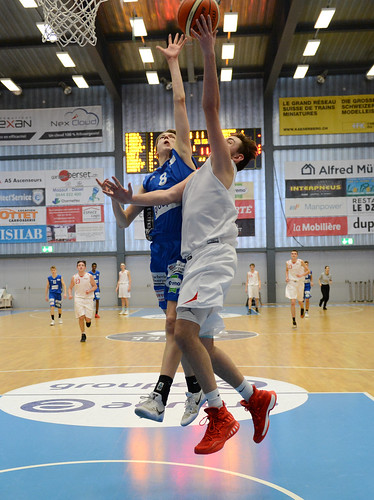 Grande Finale Fribourg Académie U16m -  Swiss Central Basket 43