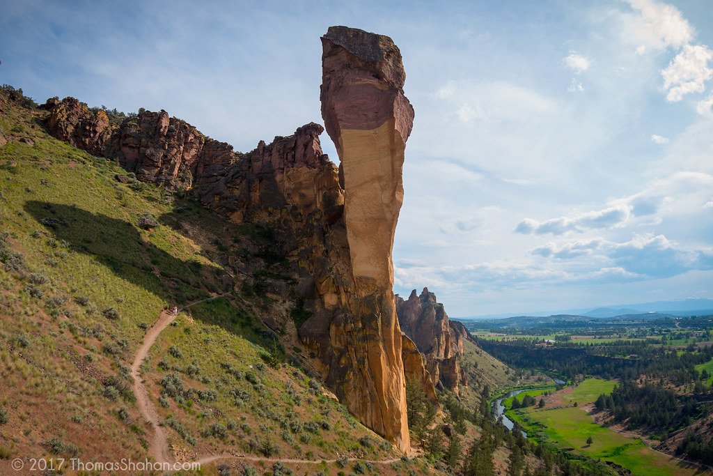 Monkey Face, Smith Rock, Oregon - May 2015