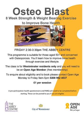 Osteoblast New Abbey Centre Promo