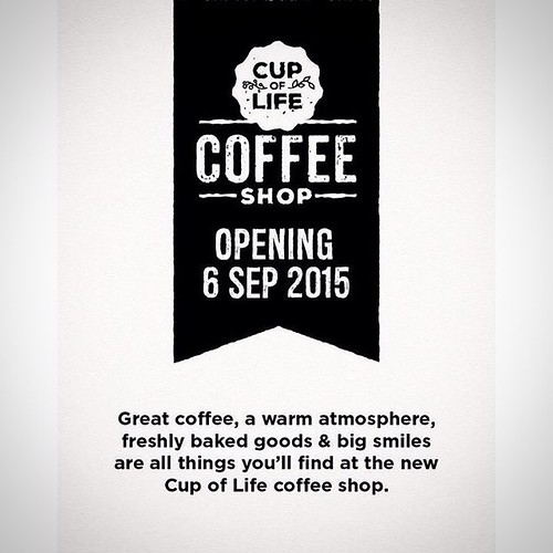 #CupofLife #coffeeshop #openingsoon #capetown #cpt #share #like #love #smile #coffee #shop #bakery #cafe #yummy #new #treats #blogger #foodie