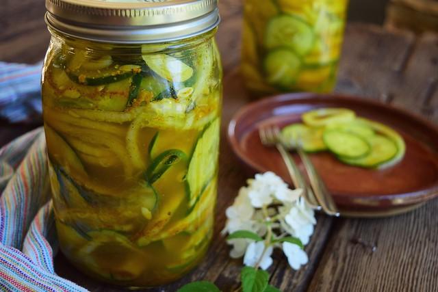 Turmeric Refrigerator Pickles