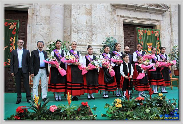0 Briviesca en Fiestas 2.015 Proclamación de las Reinas y lectura del Pregón
