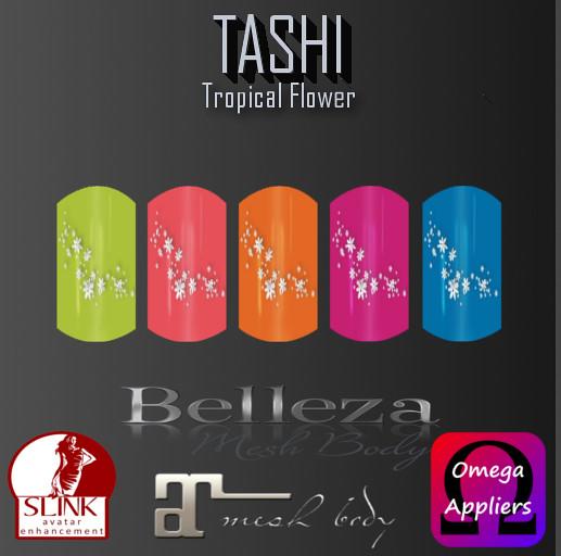TASHI Tropical Flower
