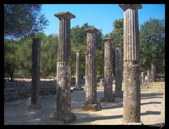 Grecia Olimpia Delfos - Palestra