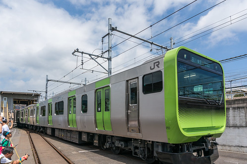 Latest vehicle type E235 (new Yamanote Line dedicated vehicle)
