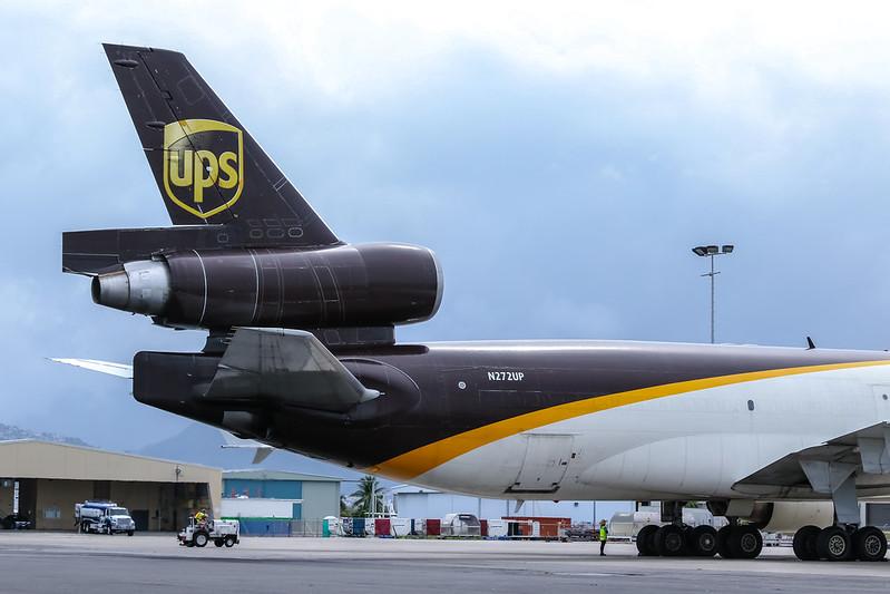 N272UP United Parcel Service (UPS) McDonnell Douglas MD-11