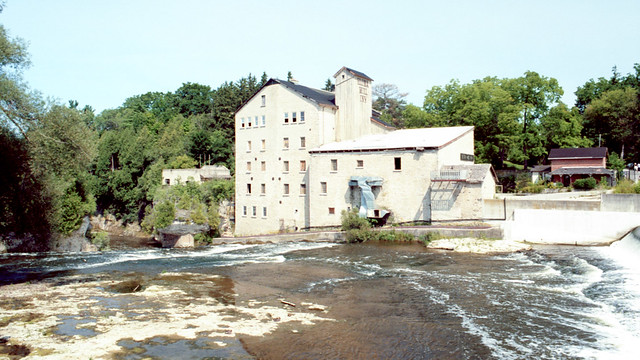 Elora Mill Inn on the Grand River