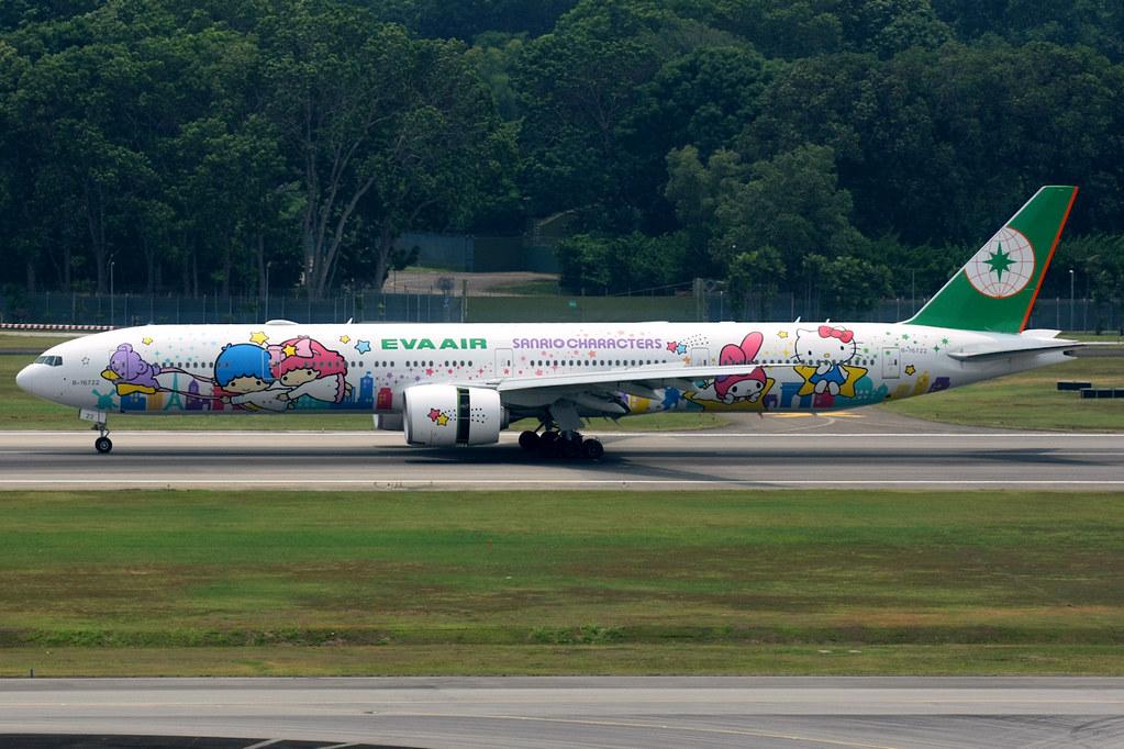 B-16722 - B77W - EVA Air