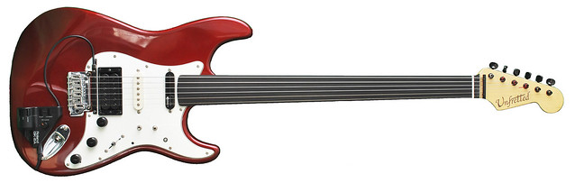 Jahloon's Baritone Fretless Guitar