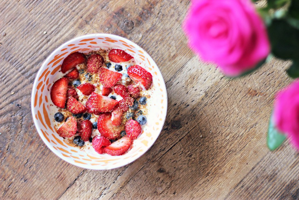 Breakfast recipes fruit yoghurt the little magpie