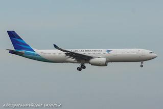 PK-GPY / F-WWTJ Garuda Indonesia Airbus A330-300 - cn 1671