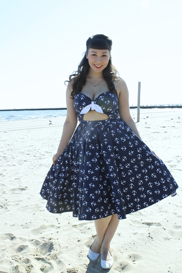 pinup girl clothing anchor renee