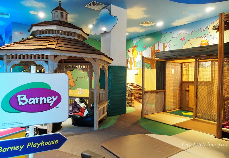 Barney's Playhouse