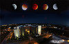 Eclipse superlunar total septiembre de 2015