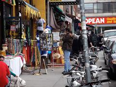 Kensington Market sidewalk