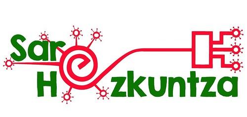 Logotipo oficial de Sare_Hezkuntza (programa de Reducación del Gobierno Vasco)