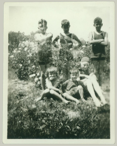 Six Children at the Lake