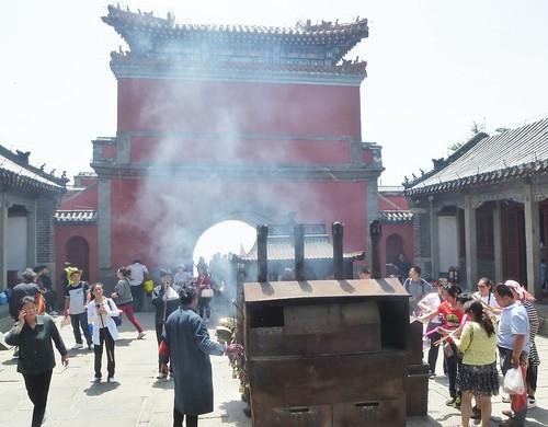 CH-Mont Taishan-Sommet 1-Porte céleste du Sud (4)