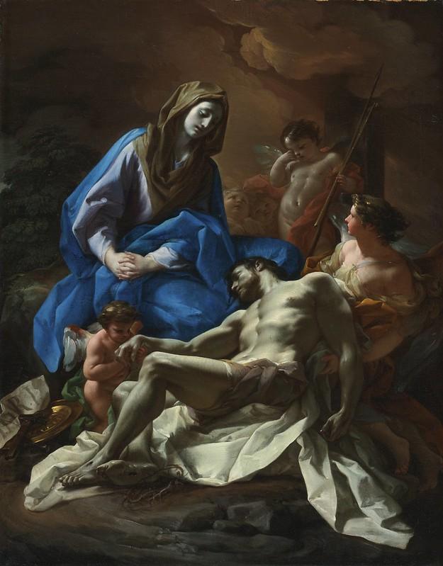 Corrado Giaquinto - Pietà