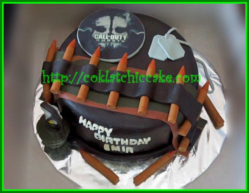 Cake Call of Duty Ghost