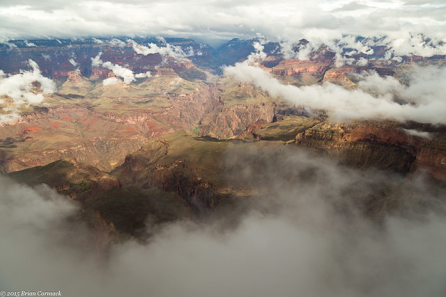 Clearing Fog at the Grand Canyon