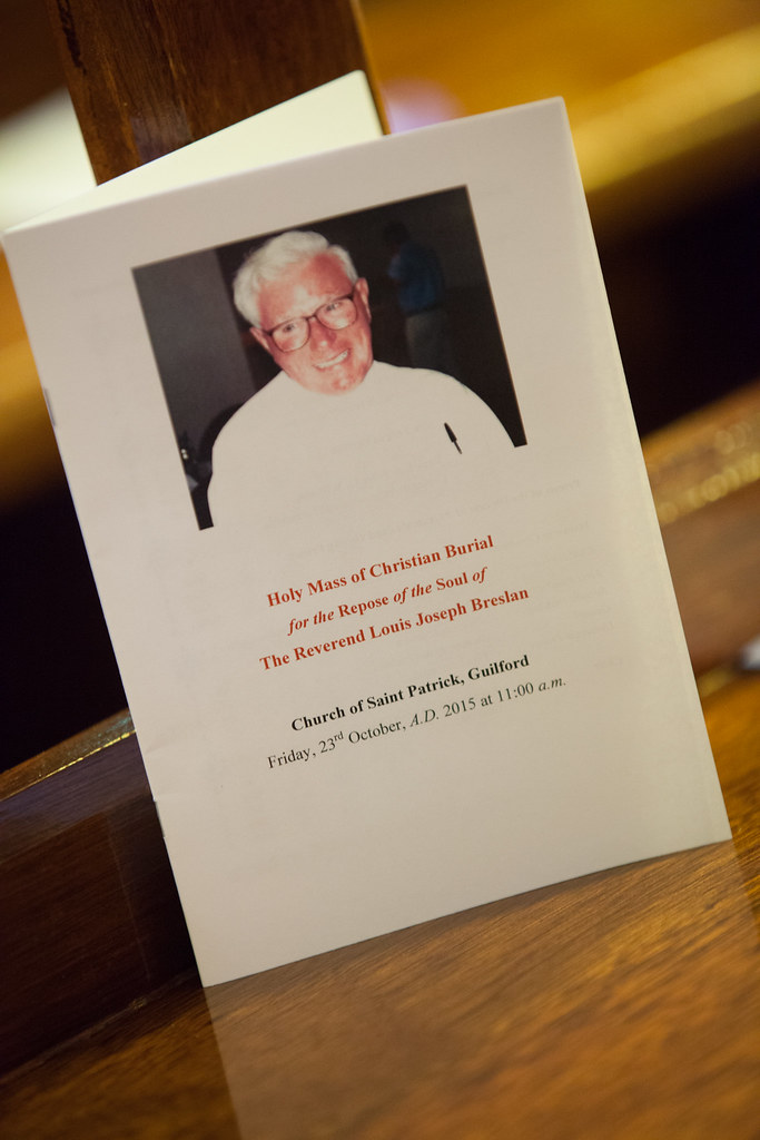 Funeral Mass for Rev Louis Breslan